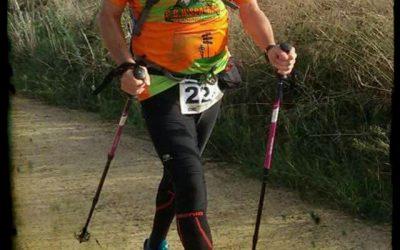 Angel Enrique en el Trail Doñana